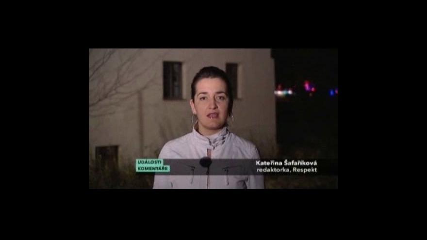 Video Rozhovor s Kateřinou Šafaříkovou v pořadu Události, komentáře