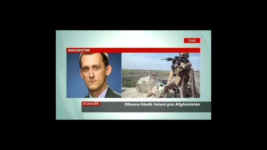 Video Studio ČT24 k situaci v Afghánistánu