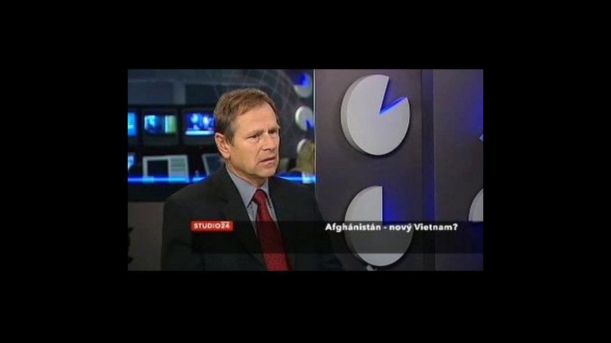 Video Jiří Šedivý ve Studiu ČT24