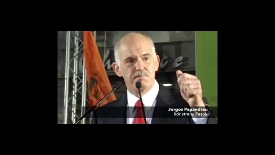 Video V Řecku vyhrála opozice