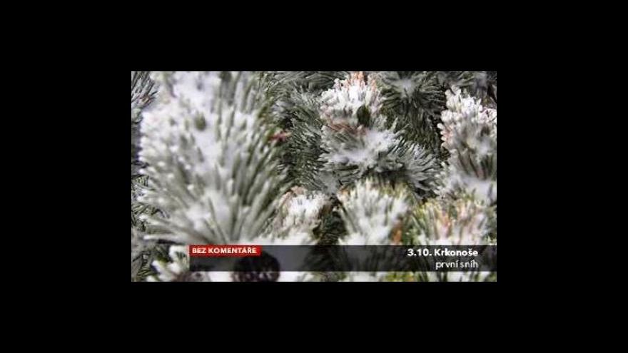 Video První sníh na horách