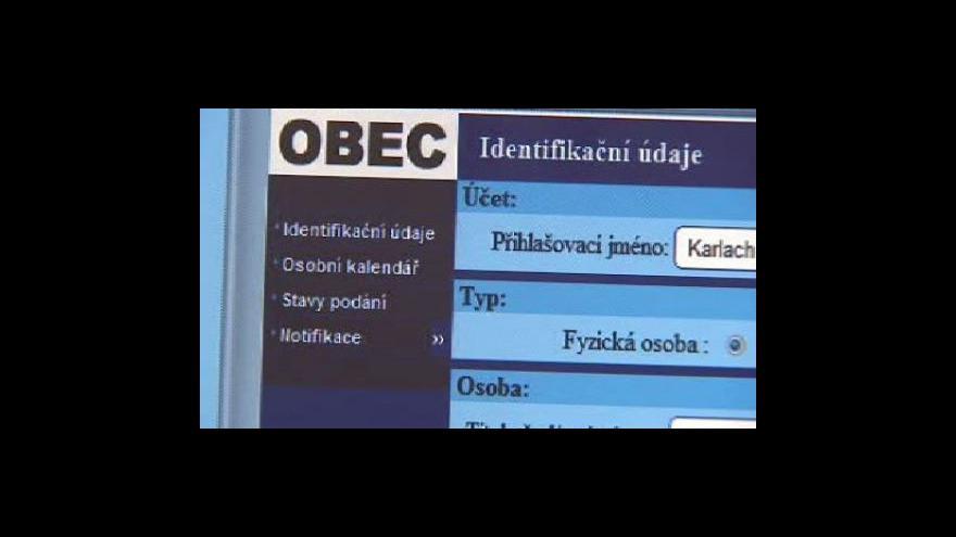 Video Datové schránky nefungují všude, upozorňují exekutoři