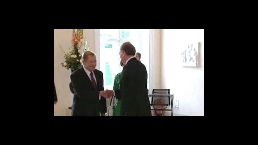 Video Havel jednal s Köhlerem o Lisabonu