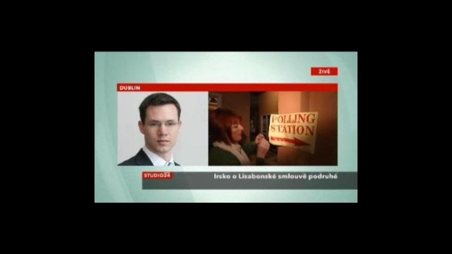 Video Studio ČT24 o referendu v Irsku