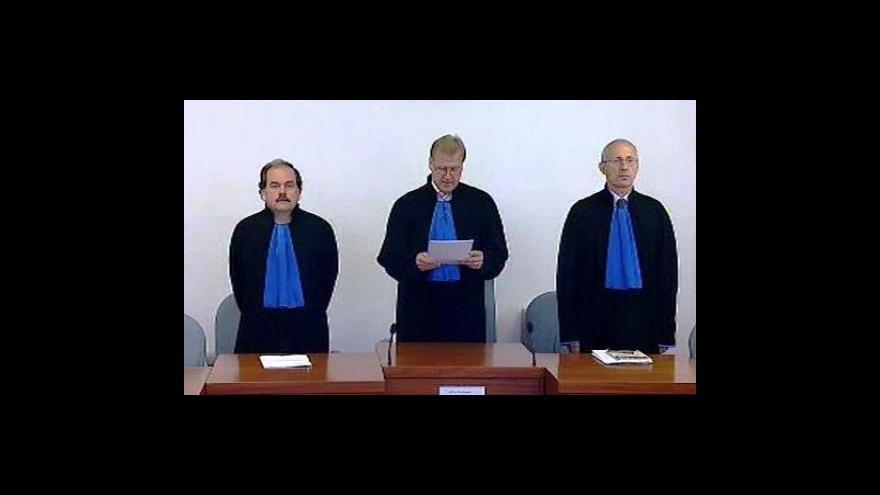 Video Verdikt Nejvyššího soudu k Čunkově kauze