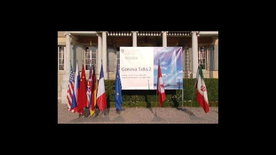 Video Studio ČT24 o jednáních v Ženevě
