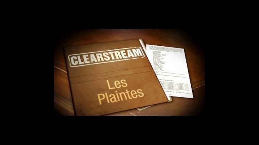Video Pokračuje proces k aféře Clearstream