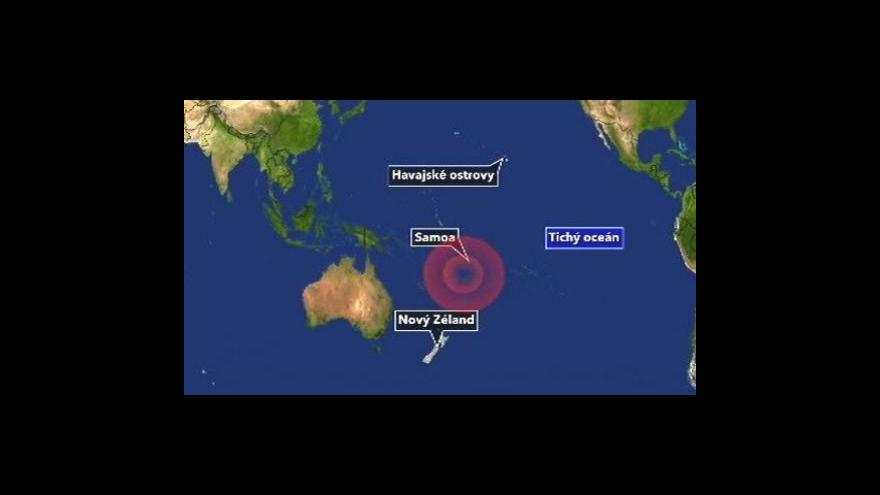 Video Bilance po přírodní katastrofě v Tichomoří