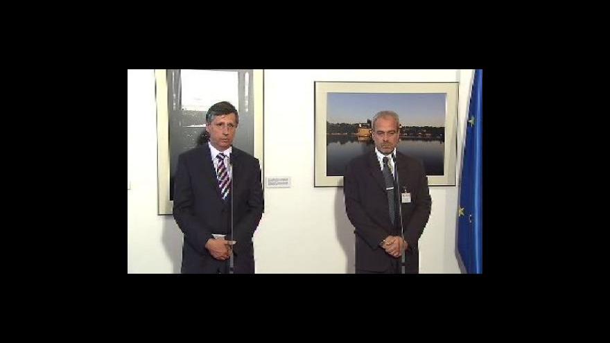 Video Brífink po jednání předsedy vlády a dopravních odborů