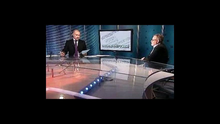 Video Jiří Oberfalzer a Lukáš Pachta v Událostech, komentářích