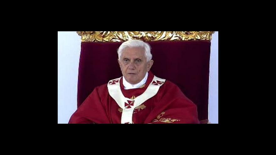 Video Papež v Česku - bez komentáře