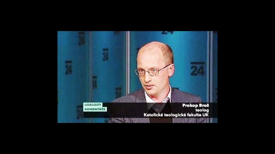 Video Rozhovor s Prokopem Brožem