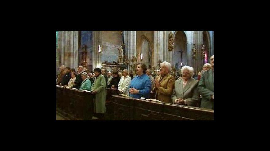 Video Reportáž Olgy Málkové o věřících v Česku