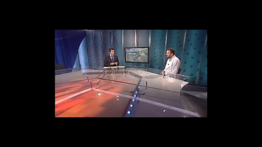 Video Jan Konvalinka a Marek Vácha hosty Událostí, komentářů
