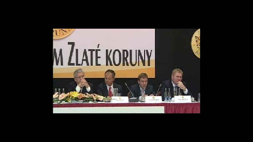Video Vystoupení Milana Fridricha na fóru Zlaté koruny