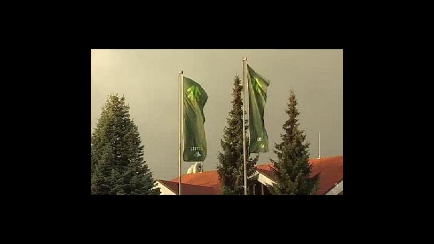 Video Lidé ze CE Wood manažery Lesů ČR