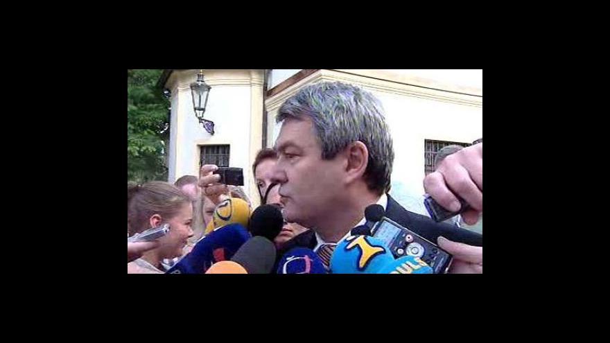 Video Reportáž Olgy Málkové a vstup Jany Čermáková