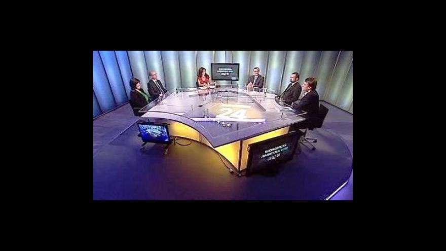 Video Diskuze zástupců parlamentních stran o rozpočtu