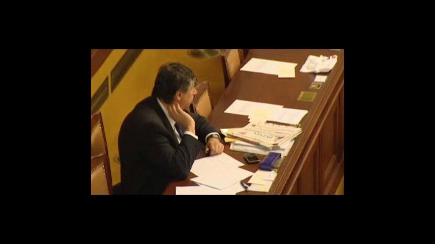 Video Strany budou s Fischerem jednat  o rozpočtu