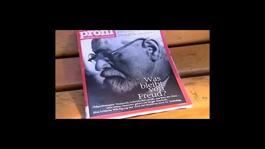 Video Před 70 lety zemřel Sigmund Freud