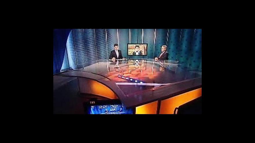 Video Události, komentáře s Jiřím Paynem a Jiřinou Šiklovou