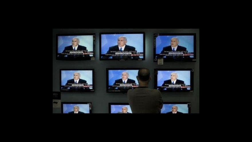 Video Obama jedná s Netanjahuem a Abbásem