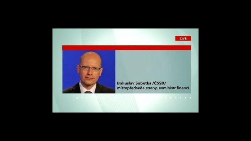 Video Rozhovor s Bohuslavem Sobotkou a Martinem Kocourkem