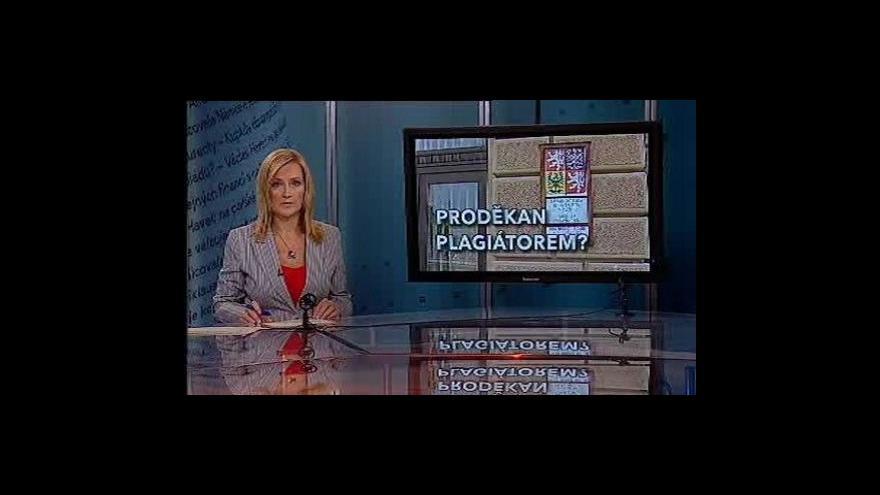 Video Události, komentáře o problémech plzeňských práv