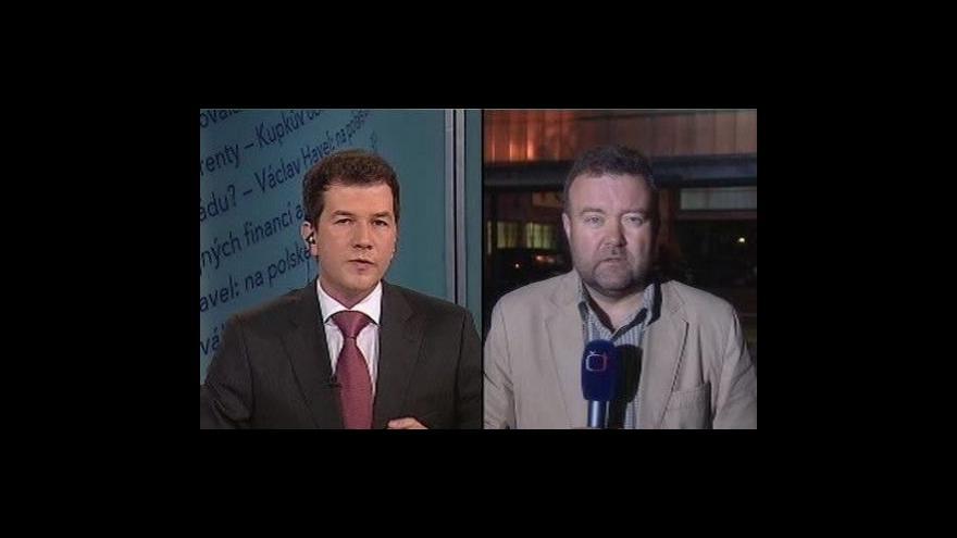 Video Události, komentáře o neštěstí v Polsku