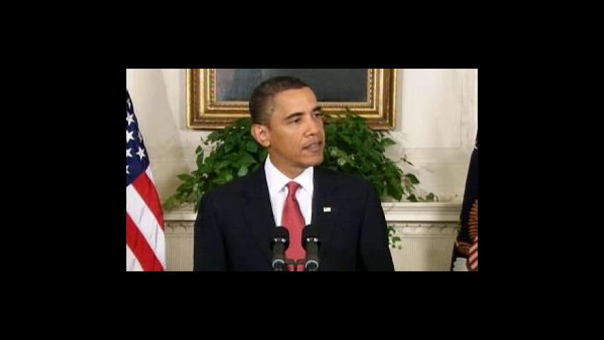 Video Brífinky Obamy a Gatese k protiraketovému štítu 1. část