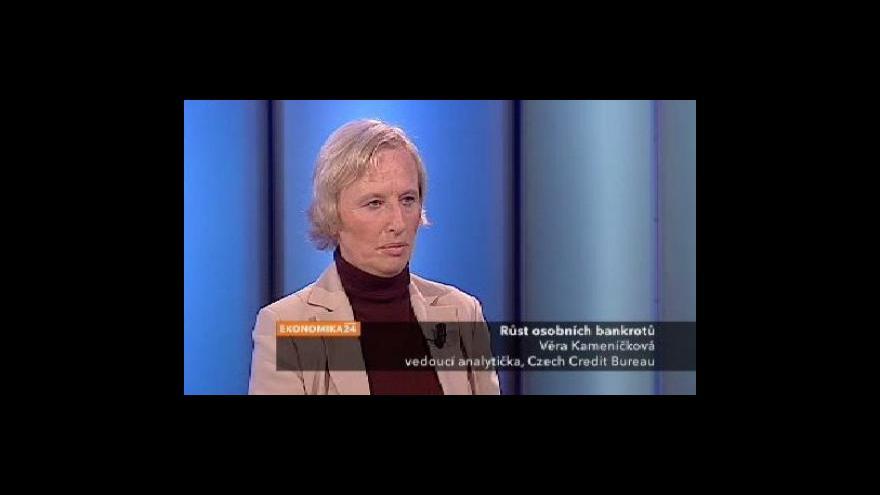 Video Rozhovor s Věrou Kameníčkovou