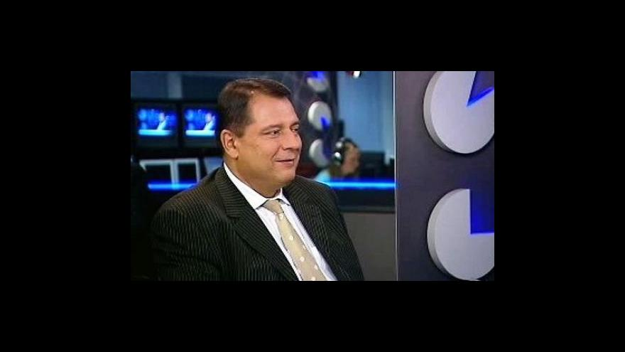 Video Jiří Paroubek ve Studiu ČT24