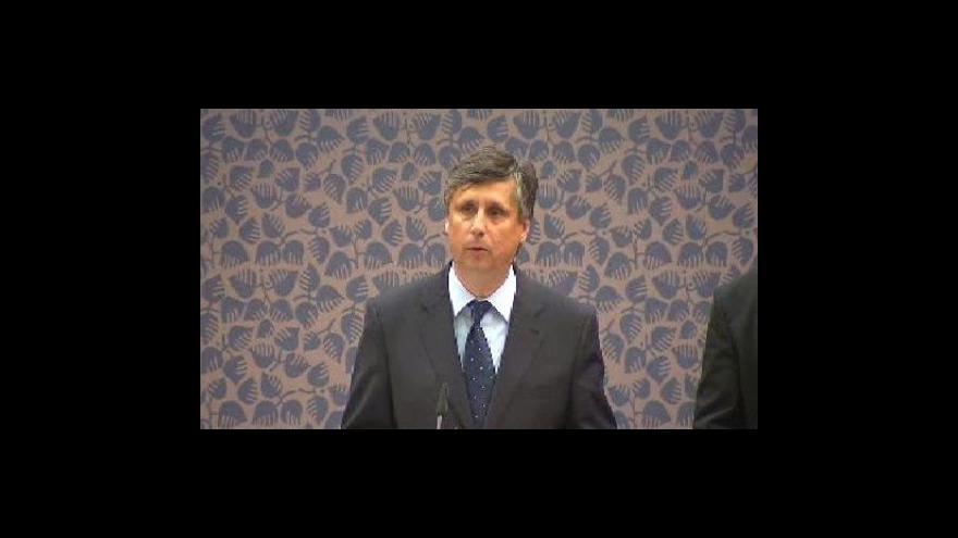Video Brífink po jednání vlády - 1. část