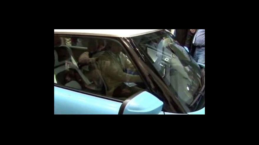 Video Nový Trabant se představil na německém autosalonu
