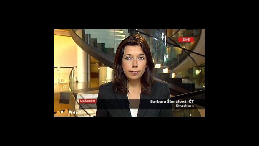 Video Vstup Barbory Šámalové ze Štrasburku