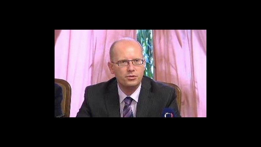 Video Brífink ČSSD k hlasování o rozpuštění sněmovny