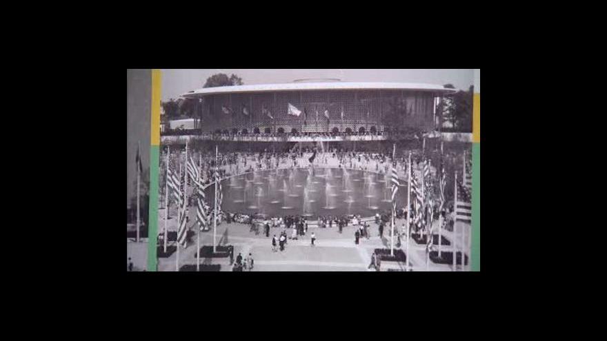 Video Skleněná fontána z EXPO 58 se dočkala opravy
