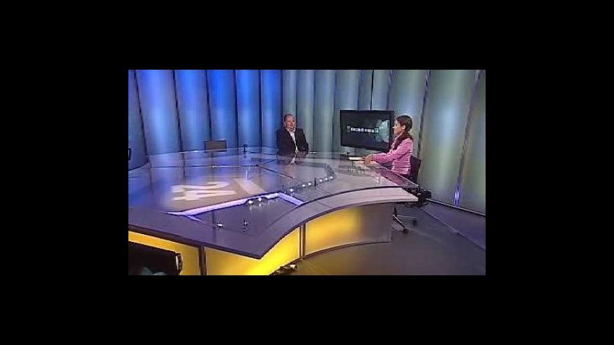 Video Rozhovor s Václavem Novákem v Ekonomice ČT24
