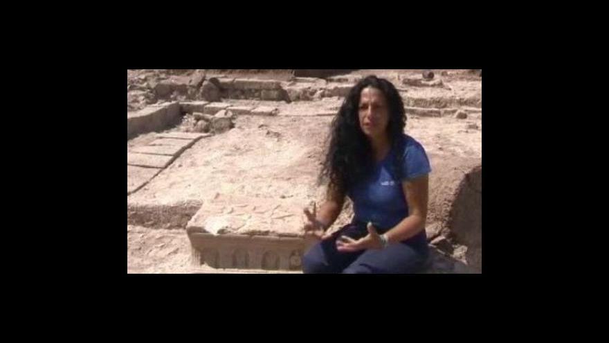 Video Unikátní nález izraelských argeologů
