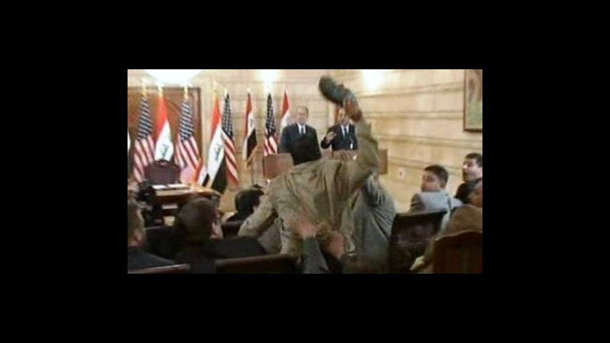 Video Irácký novinář Zajdí bude propuštěn na svobodu