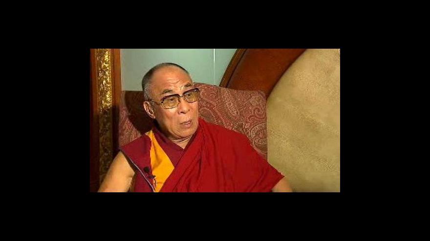 Video Rozhovor s Dalajlámou v OVM