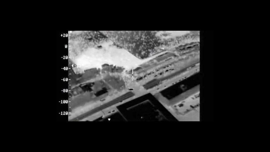 Video Letecké záběry termokamerou po koncertu Kabátu