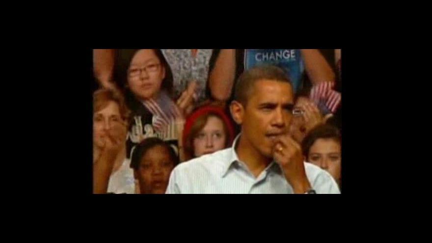 Video Proti Obamově reformě zdravotnictví protestovali ve Washingtonu