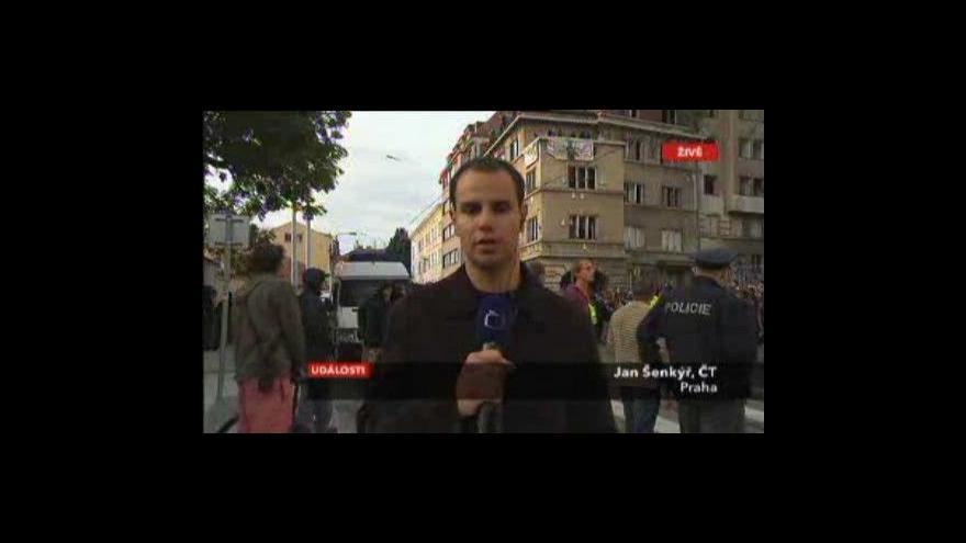 Video Vstup a reportáž Jana Šenkýře