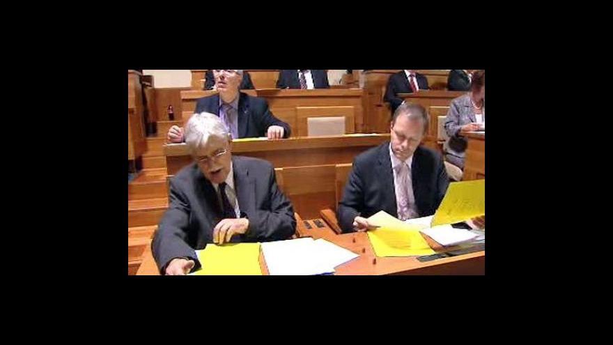 Video Vstup Jana Osúcha ze Senátu