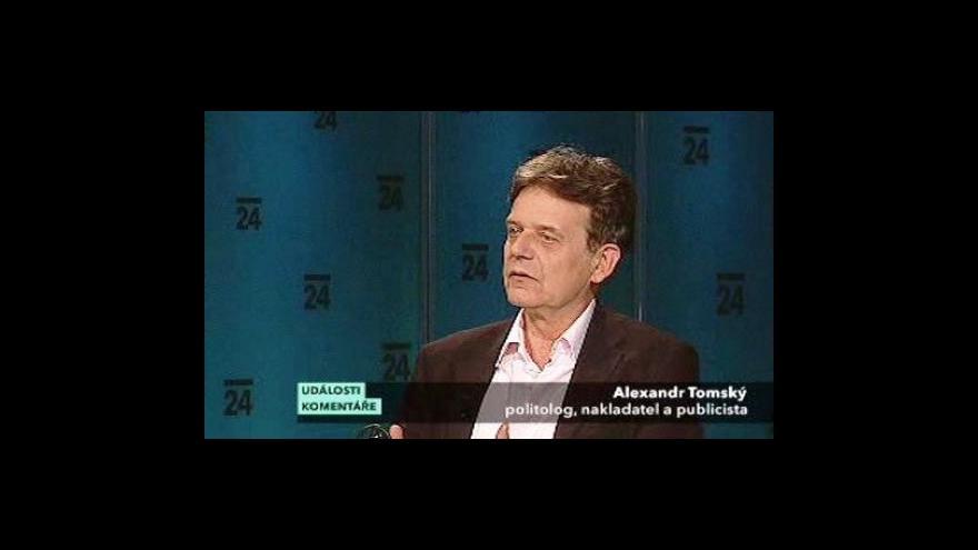 Video Rozhovor s Alexandrem Tomským