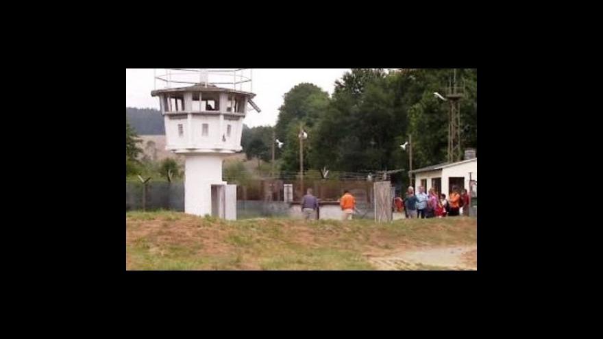 Video Mödlareuth je malý Berlín - rozdělila ho totiž zeď
