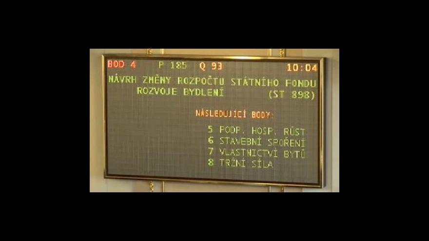 Video Sněmovna přehlasovala prezidentské veto šrotovného