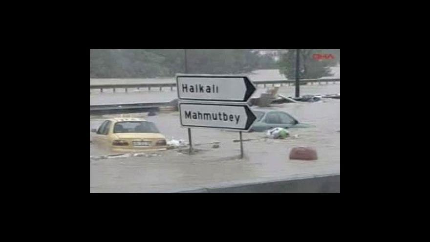 Video Turecko zasáhly záplavy