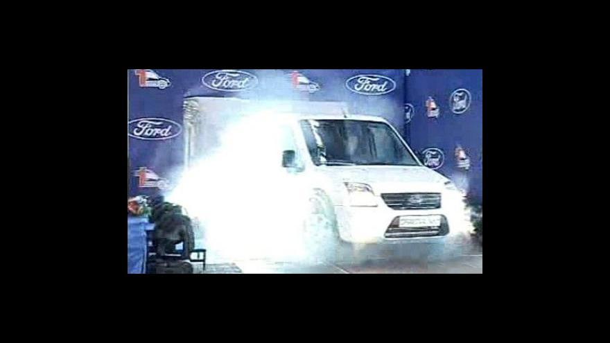 Video Ford zahájil výrobu v Rumunsku